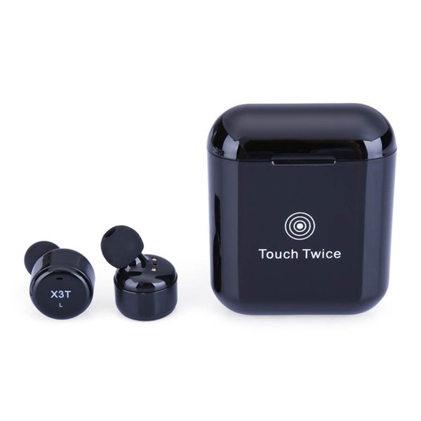X3T TWS Touch Twins Mini Bluetooth Earbud Earphones Stereo Sports Bluetooth Headphone In-Ear Earphone For Apple iPhone LG Cell Phone