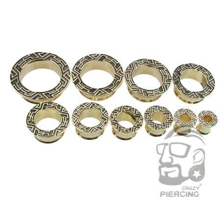 2019 New Style Spiral Brass Flesh Ear Tunnel Plug Gauge Ear Stretcher  Expander Body Piercing Jewelry ,6mm To 25mm From A531205967, $4 23 |  DHgate Com