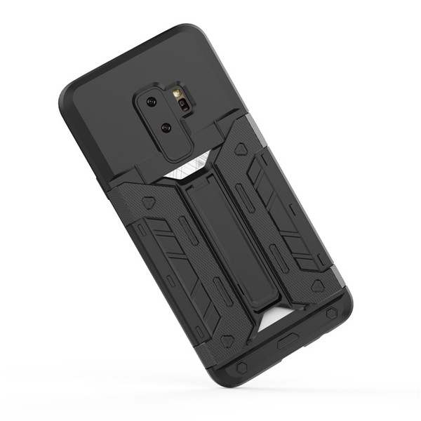 with credit card slot back cover phone case for samsung galaxy s9 plus, card slot case for samsung ,mobile phone shell