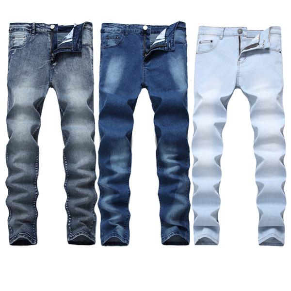 f5699ebd5 Compre Calças De Ganga Para Homem E Homem Com Calça Jeans Reta ...