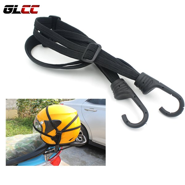 2 Hooks Mesh Motorcycle Helmet Net Rope Bike Net Mesh Strap Helmet Holder Strength Retractable Moto Luggage Accessories