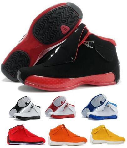 Last 18 18s Basketball Shoes Sneakers Mens Men Black Suede Countdown Pack Toro OG Asg Bred XVIII Trainers Tennis Man China Sports Shoe