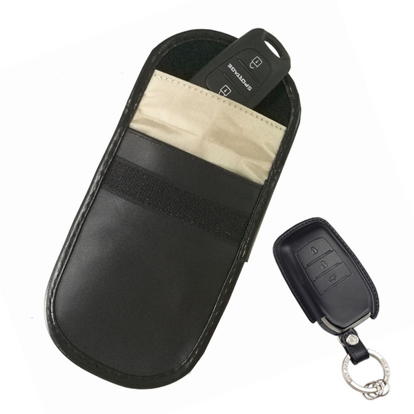 Rfid Protection Car Key Fob Pouch Signal Block Smart Car Key Case Keyless Entry Fob Guard Signal Blocking Pouch Bag My Wallet Front Pocket Wallet