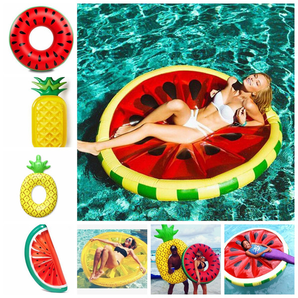 pineapple Swimming Float Mattress Water Gigantic Pool Inflatable Floats Pool Toys Swimming Float Adult Floats KKA5123