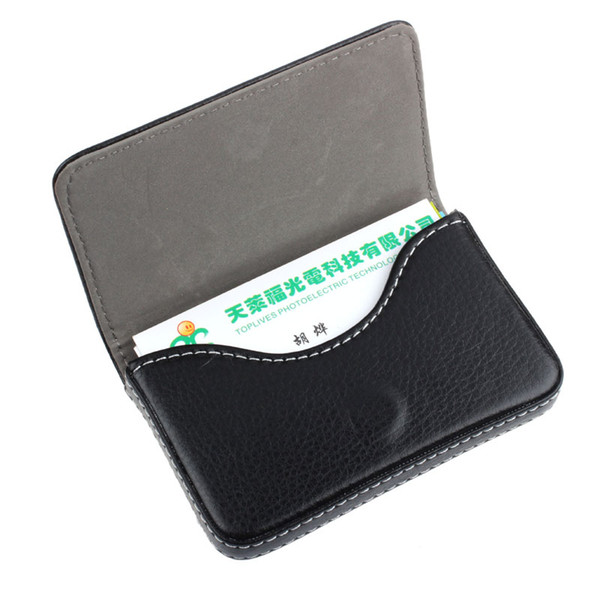 New arrival holder woemn travel holder Exquisite Magnetic Attractive Card Case Business Card Case Box Holder#0
