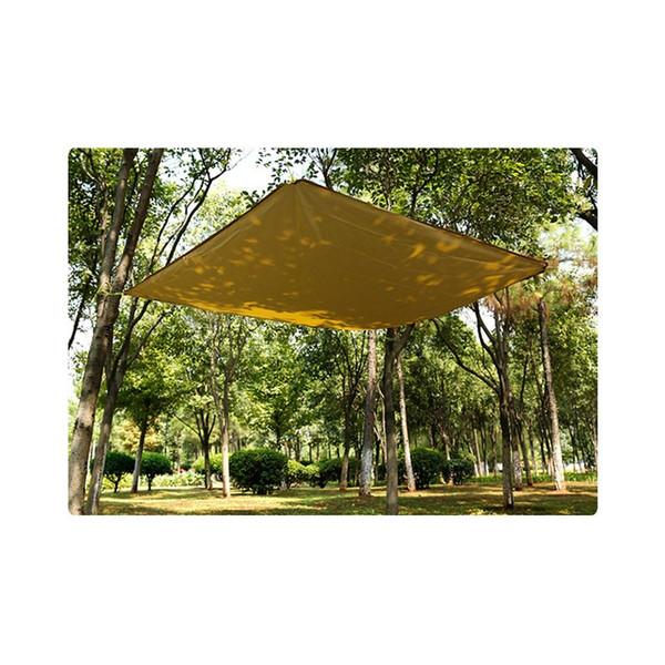 Hewolf high quality 180x145cm Camping Sun shelter Waterproof Oxford Sunshade Picnic rain Tents Ultralight Camping mats Awing
