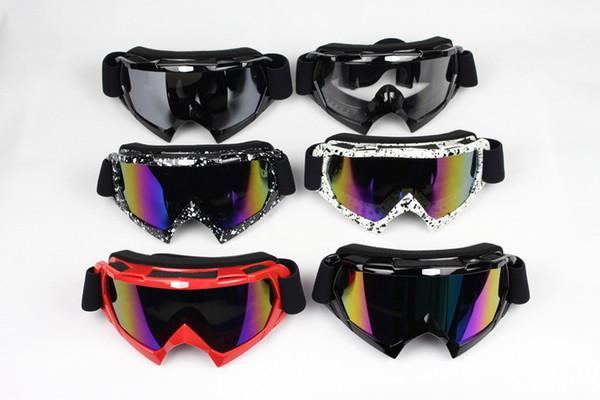 2016 Nueva Llegada FOX Profesional gafas de motocross motocicleta gafas gafas motocros casco zorro motocross Tiene almohadillas para la nariz