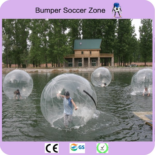 Good Quality 2m Water Zorb Ball Inflatable Water Walking Ball Inflatable Human Hamster Ball Zorb Balloon Water Roller Balloon