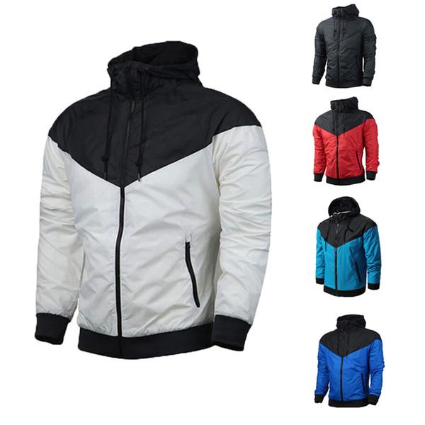 best selling Brand Designer Mens Coat Sweatshirt Hoodie Women Jacket Long Sleeve Spring Sportswear Zipper Windcheater Plus Size Outerwear with Logo