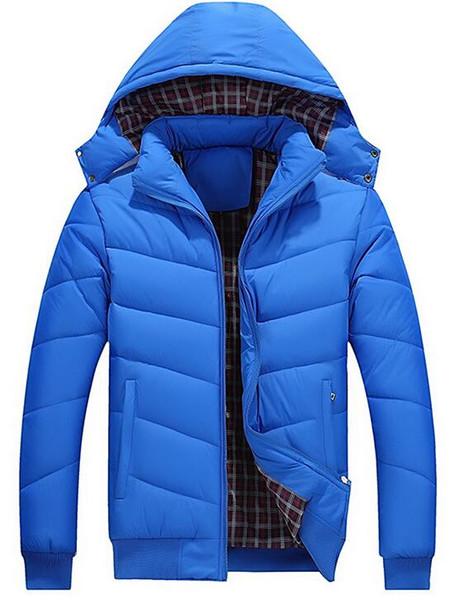Tem LOGO !! Mountainkin Jaqueta de Inverno dos homens 5XL Casacos Com Capuz Casuais Mens Bomber Jacket Masculino Slim Fit Quentes Parkas Marca Quente