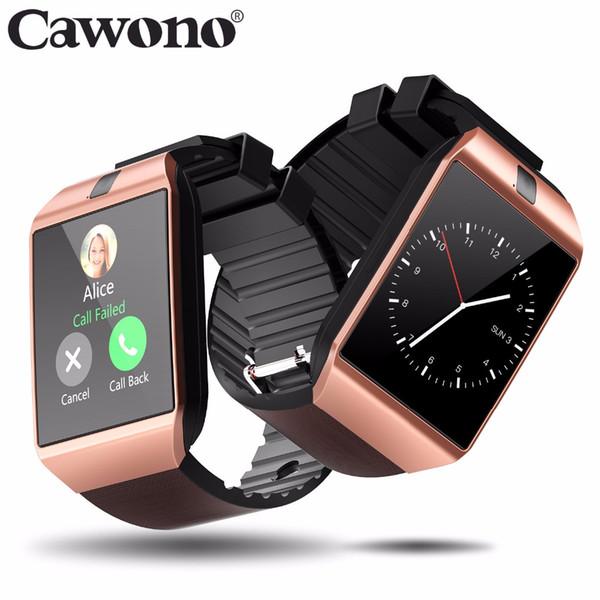 Cawono DZ09 Smart Watch Relogio Android Smartwatch Telefonanruf SIM TF-Kamera für HUAWEI VS Y1 Q18