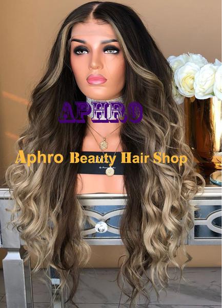 Подгоняйте европейские парики шнурка Ombre человеческих волос средств коричневые Silk верхние полные с самыми интересными основанием 180% плотности 5x5 дюймов Silk парики Glueless