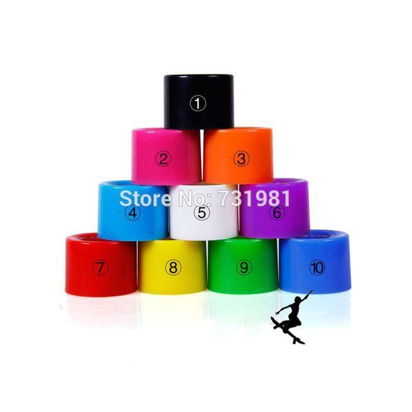 1Set(4 pcs) Blank Pro 60 X 45 mm PU Wheels fit 22 Inch Cruiser Board Plstic Skateboard Backpack Longboard Skate board