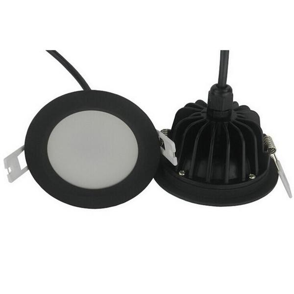 Prix de gros 10W 15W étanche IP65 de haute qualité encastré downlight led spot light led plafonnier AC85-265V