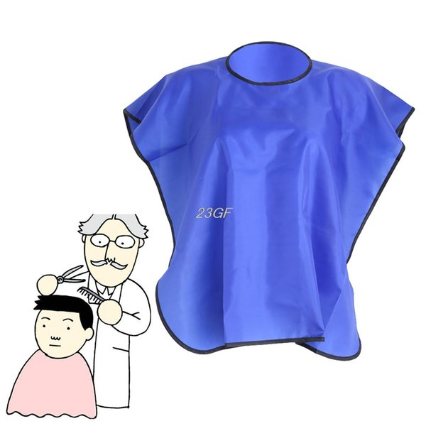 2018 Short Square Waterproof Hairdressing Hair Cut Salon Hairstylist Gown Cape Cloth JUL18_37