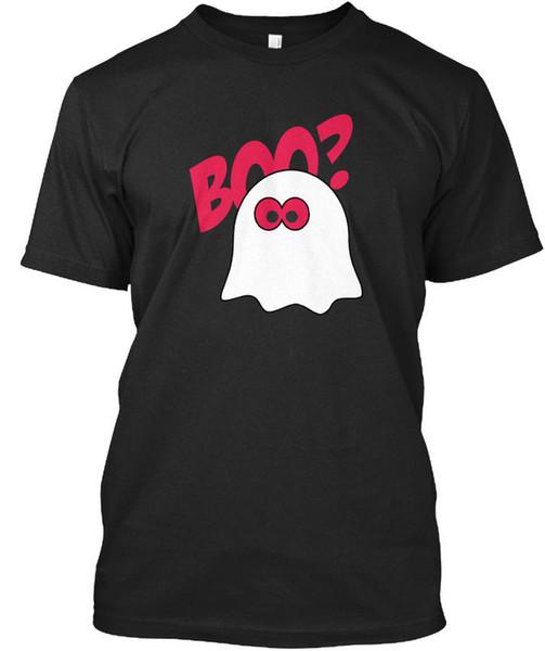 Funny Ghost Part Ii Standard Unisex T-Shirt T-Shirt Men Boy Unique Custom Short Sleeve Boyfriend's Big Size Couple T Shirts