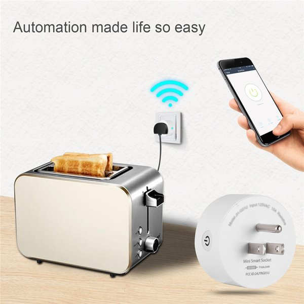 Smart WIFI socket Mobile remote control European standard British standard Smart furniture power switch graffiti switch