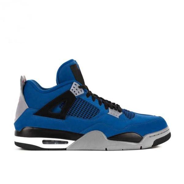 cbf406bdd884c Top Factory Version 4 Negro Azul Gris Zapatillas de baloncesto Rapper  Edition para hombre zapatillas Nuevo