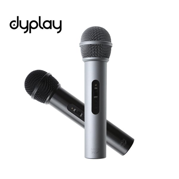 dyplay Digital Dynamic USB Microphone Portable Handheld Speaker Ultra Low Noise for iPhone/iPad/PC/Mac/Windows PC and Android
