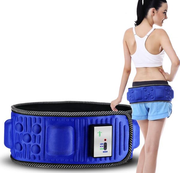 Fat reducing power plate belt thin waist belly belly lazy artifact vibration fitness equipment home to lose weight D0053
