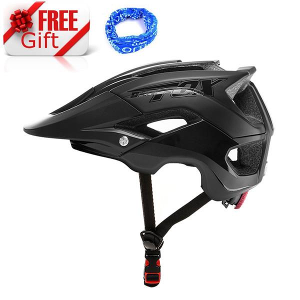 BAT-FOX 1pcs Mountain Bike Riding Helmet Ultralight Adults Cycling Helmet Safety