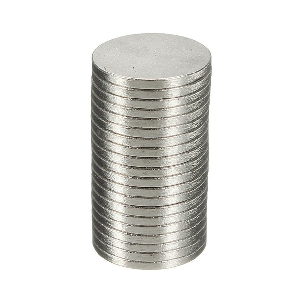 100PCS Strong 10x1mm N50 Disc Round Rare Earth Neodymium Magnets