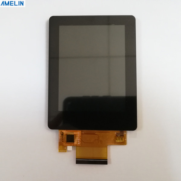 Touch panel 2.8 inch 240*320 color TFT LCD module touch screen with ili9341 IC display and MCU interface from shenzhen amelin manufacture