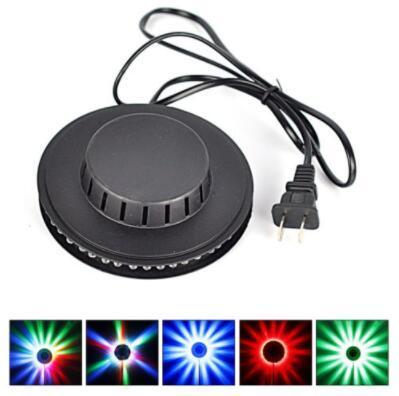 Girasol LED Light Magic 7 colores 48 LEDs Auto activado por voz RGB Etapa de luz para disco Etapa Luz Decoraciones de jardín CCA10664 100pcs