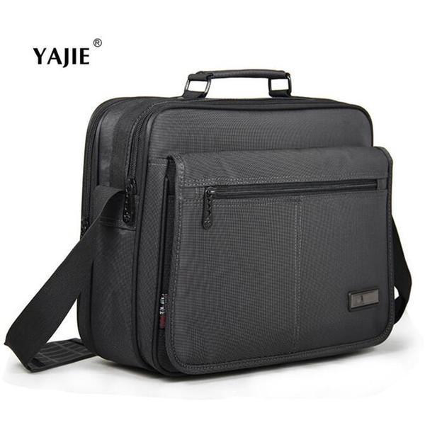 YAJIE новый горячий 12-15 дюймов Мужчины Женщины ноутбук сумка многофункциональный износостойкий NotComputer сумка бизнес мужской портфель A689