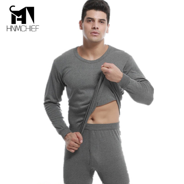 brand clothing thermal underwear men HOT SALE Thermal Underwear Sets Winter autumn Men's Warm Underwears Add wool Long Johns