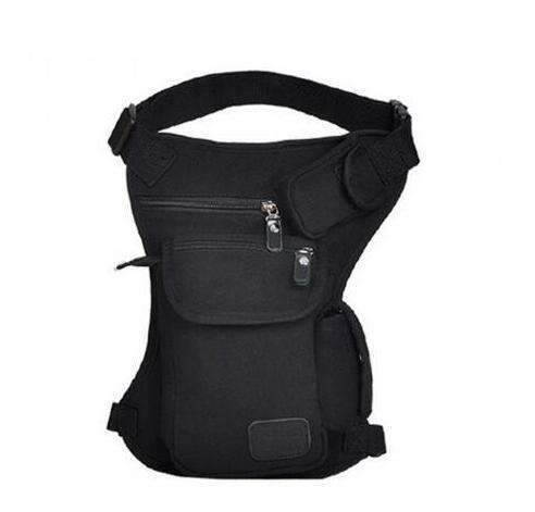 New Men's Canvas Drop Leg Bag Waist Fanny Pack Belt Hip Bum Motocross / motorcycle bag / equipment