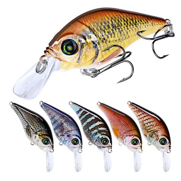 New Likelife Fish Rattlin Laser Crankbaits Fishing lure 12g 7.8cm Floating Swimming Plastic Minnow Tongue Board Hard bait