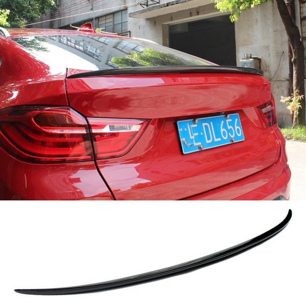 M Style Real Carbon fiber Trunks Spoiler F26 X4 Fit For BMW