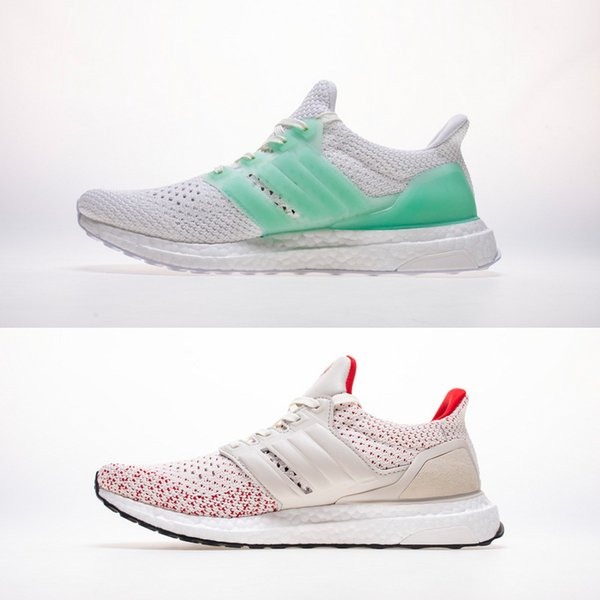 En iyi Kalite Ultra 4.0 Çizmeler TUAN YUAN Floresan yeşil Ve Talcum beyaz Çin YUAN XIAO Mens Koşu Ayakkabıları Için Primekni Ultra Sneakers