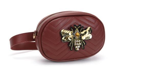 champions BDgucci luxurys brands Crossbody bag new pockets women's chest bag herringbone pattern fashion diamond sequins bee oval bag
