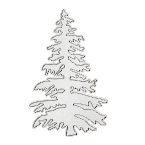 Christmas Tree Cut Out.2019 Christmas Tree Cutting Die Stencil For Diy Scrapbooking Dies Metal Embossing Paper Card Template Dies Craft From Bf Home 3 36 Dhgate Com