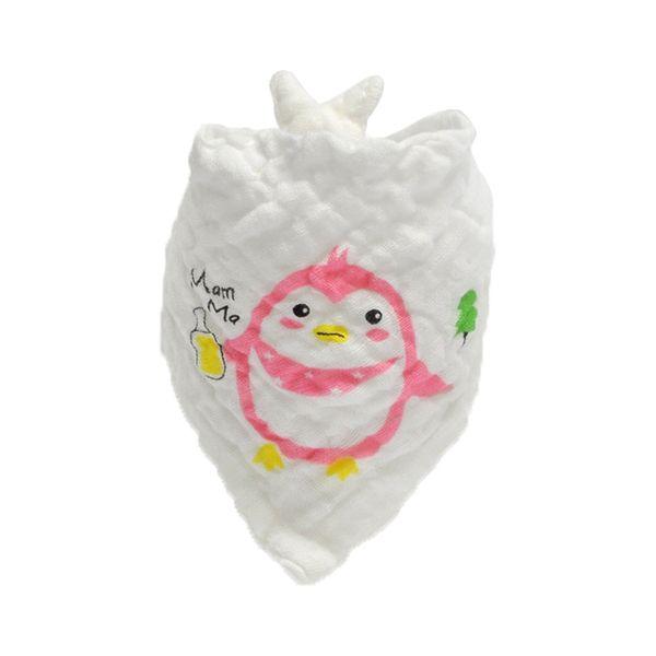 6 layers cotton muslin bib Bandana Infant Saliva Cloth INS Triangle Bibs Newborn Cartoon Baby Bibs Newborn Burp Cloths