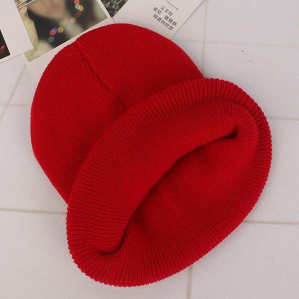 Mode schädel Kappe Für Männer Frauen Solide Baumwollmischungen Weiche Warme Strickmütze Lässige Woolen Ski Caps Kopfbedeckungen