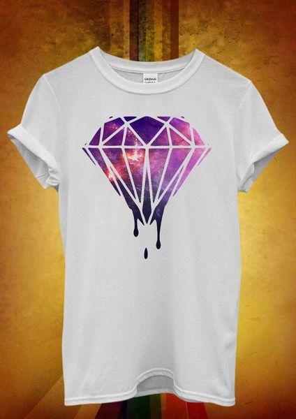 Galaxy Diamond Space Hipster Funny Men Women Unisex T Shirt Tank Top Vest 538