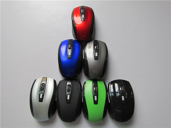 best selling 6 Key Gaming Mouse 2.4GHz 2000DPI Mice Optical Wireless Mouse USB Receiver PC Computer Wireless for Laptop