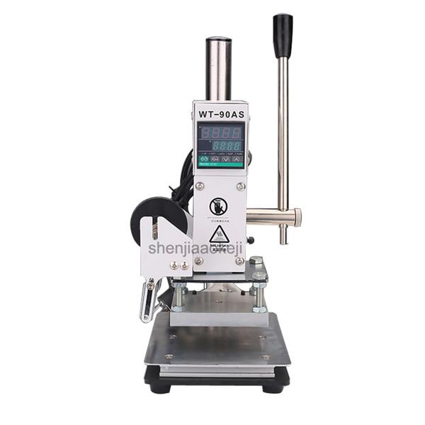 Multifunktions-Prägemaschine Heißprägen / Eindruck Maschine Leder Holz Papier Kennzeichnung Presse Prägung 1pc