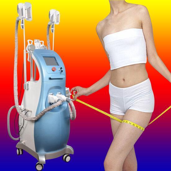 Ultrasonic Liposuction Cavitation Rf Slimming Fat Freezing Machine Lipo Laser Cellulite removal Machine 3 fat freezing handles