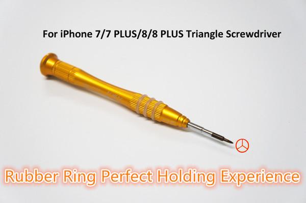 Y Stil 0.7mm Üçgen Tornavida iPhone aracı iPhone için Tamir Araçları Kiti 7 7 artı 8 8 artı Ücretsiz Kargo