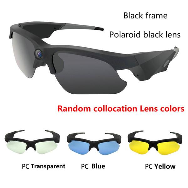 2017 NEW Sunglasses Mini Camera Mini DV Camcorder DVR Video Camera HD 1080P For Outdoor Action Sport Video Glasses