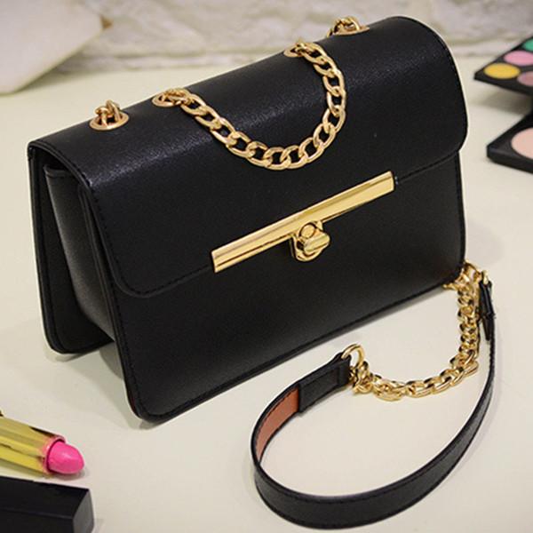 3c81e6c6fe86 Тенденция 2018 новая весна искусственная кожа черный дешевые женские сумки  женская сумка повседневная женская сумки Красный