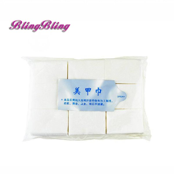 900pcs Gel Polish Nail Remover Wipes Cotton Clean Gel Nail Polish Acrylic Remover Pads Manicure Wipes Lint-Free