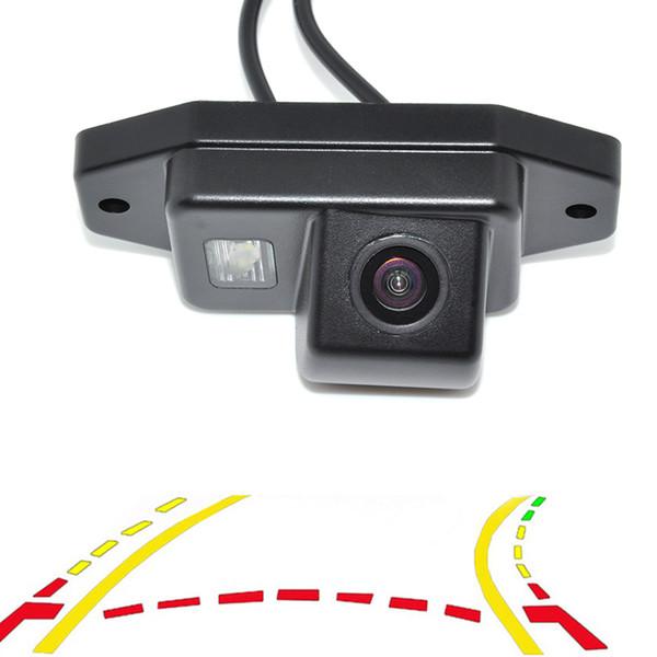 Intelligent Dynamic Trajectory Tracks Rear View Reversing Backup car Camera For Toyota Prado Land Cruiser 120 Parking Assistance