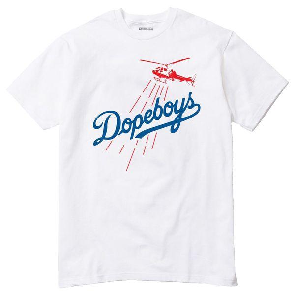 T-Shirt Los LA Dodgers Parody City Of Angels Cali Ghetto Bird Mens 2018 fashion Brand T Shirt O-Neck 100%cotton T-Shirt