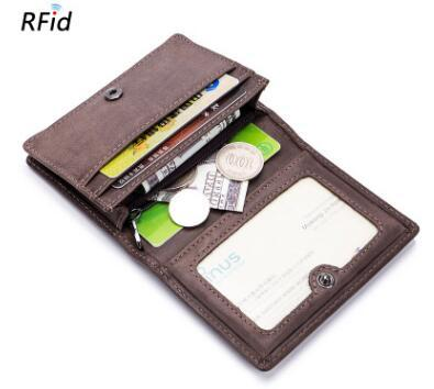 wholesale new men Card Holder Wallet Man Business Card Holders RFID Wallet High Quality Women Pillow Cards Purse