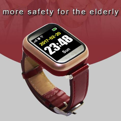 Q60 Elderly Tracker Android Smart Watch Google Map SOS Wristwatch Personal GSM GPS LBS Wifi Safety Anti-Lost Locator Watch